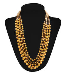 Buy Masterclass Gold plated contemporary Necklace black-friday-deal-sale online
