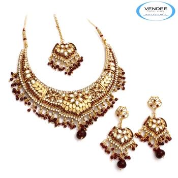 Vendee Fashion Beautiful Bridal Necklace