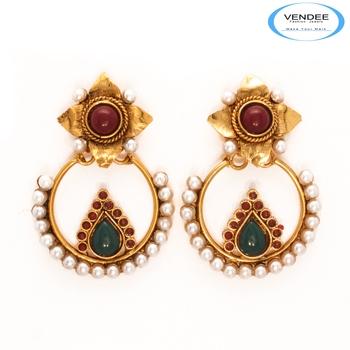 Vendee Fashion Beautiful Copper Earrings