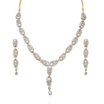 Heena Western Collection Necklace Set >> HJNL79 <<
