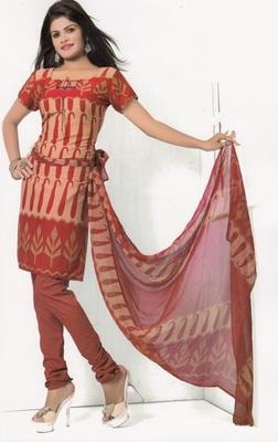 Crepe Dress Material Elegant Designer Unstitched Salwar Suit D.No 7280