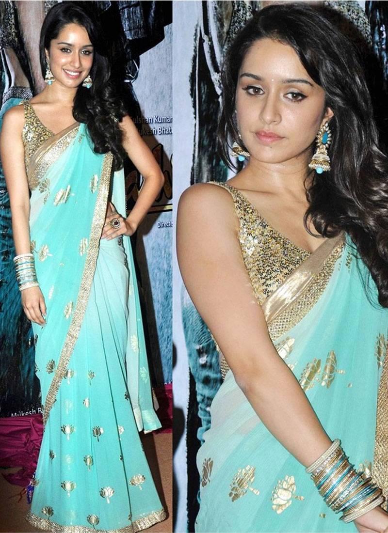 Buy Bollywood actress shraddha kapoor Inspired designer party wear ...