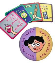Buy Me n Mummy Fridge Magnet n Tea Coasters Combo Gift gifts-for-mom online