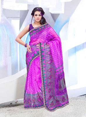 Designer SuperNet Sari magic1021
