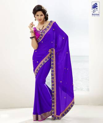Elegant Designer Sari Kesar9
