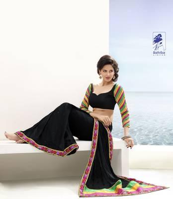 Elegant Designer Sari Kesar11