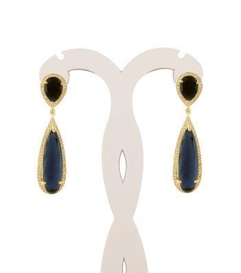 Sihiri Imperial Black Earrings