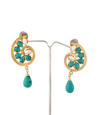 Sihiri Turquoise Magic Earrings