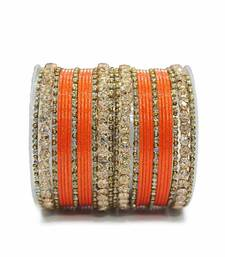 Buy Orange zircon bangles-and-bracelets bangles-and-bracelet online