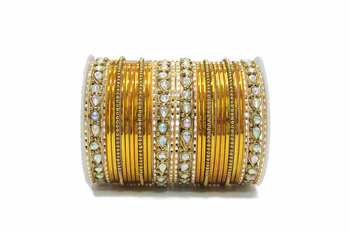 Yellow zircon bangles-and-bracelets