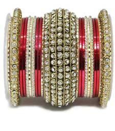Buy Red zircon bangles-and-bracelets bangles-and-bracelet online