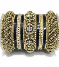 Buy Black zircon bangles-and-bracelets eid-jewellery online