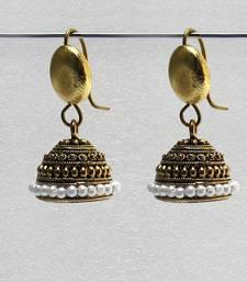 Buy Gold antique jhumkas jhumka online