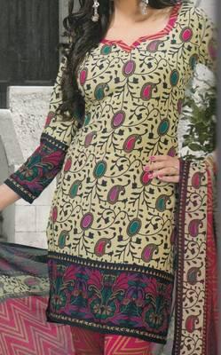 Crepe dress material elegant designer unstitched salwar suit d.no 5167