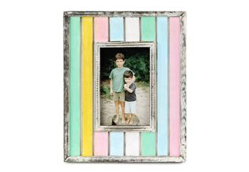 Wooden antique painted photoframe - 4 x 6