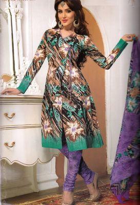 Cotton Dress Material Elegant Designer Unstitched Salwar Suit D.No 3199