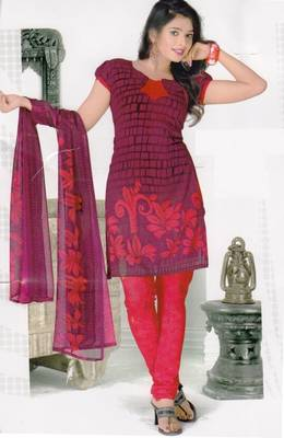 Dress Material Elegant Crepe Printed Unstitched Salwar Kameez Suit D.No 1024