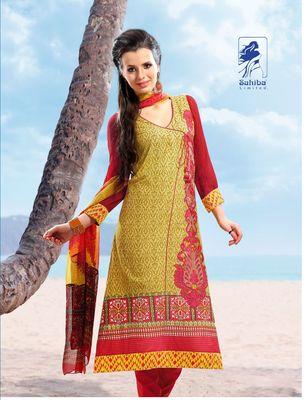 Designer Dress Material Jadui 3002