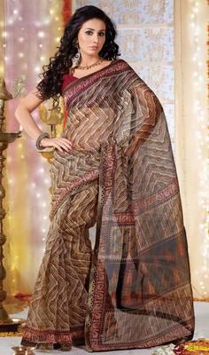 Designer Supernet Sari Jadoo1115
