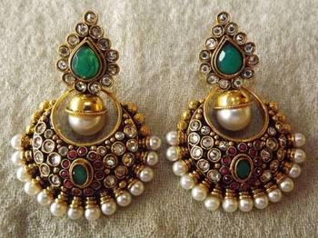Beautiful Ethnic Earrings for your Indian outfit