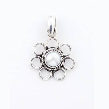 Go On , Get Crazy   ..With This Pearl Pendant In Silver_07