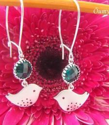 Buy Fly me High - Sparrow bird earrings danglers-drop online