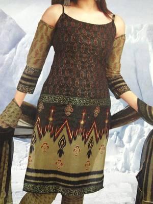 Cotton Salwar Kameez Material - Printed - Riyaa  901431