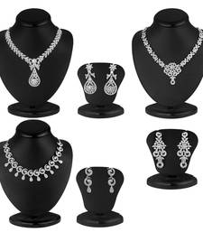 Buy Exclusive 3 Piece Necklace Set Combo jewellery-combo online