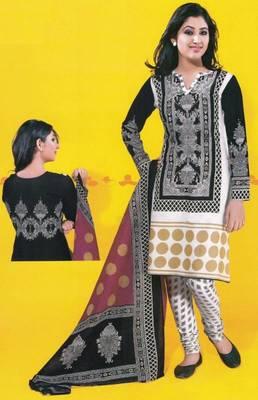 Dress Material Cotton Designer Prints Unstitched Salwar  Kameez  Suit D.No 1710