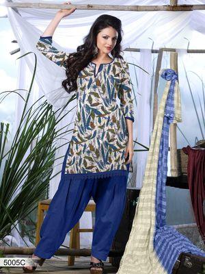 Designer Dress Material DRAPE 5005 C