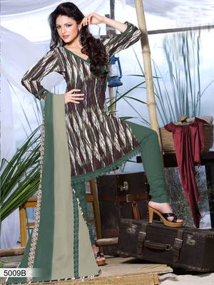 Designer Dress Material DRAPE 5009 B