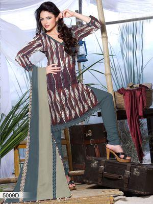 Designer Dress Material DRAPE 5009 D