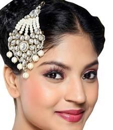 Buy Cute  White Side Pasa eid-jewellery online